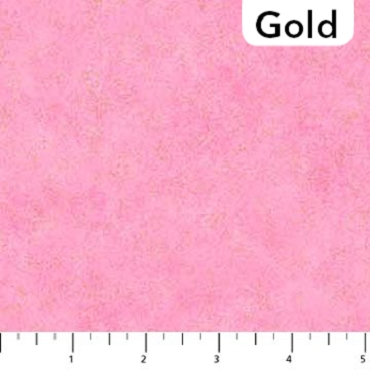 Shimmer Radiance Northcott Bubblegum - Gold