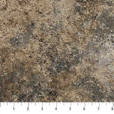 Quilt Backing 108'' Wide Northcott Stonehenge Grey Brown