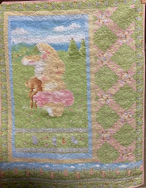 Quilt Kit Top: Bunny Wishes 47 x 57