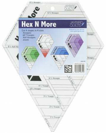 Hex N More Ruler Jaybird Quilts