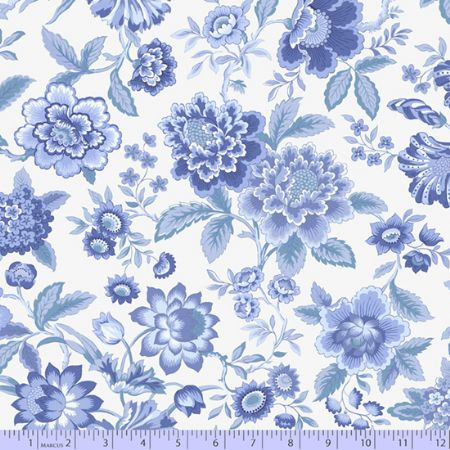 Celeste Marcus Fabrics Lady J Light Blue