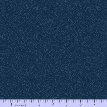 Dancing At Dusk Studio 37 Fabrics Dot Texture Navy