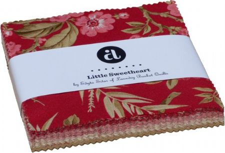 Little Sweetheart 5'' Squares  Laundry Basket Quilts for Andover Fabrics