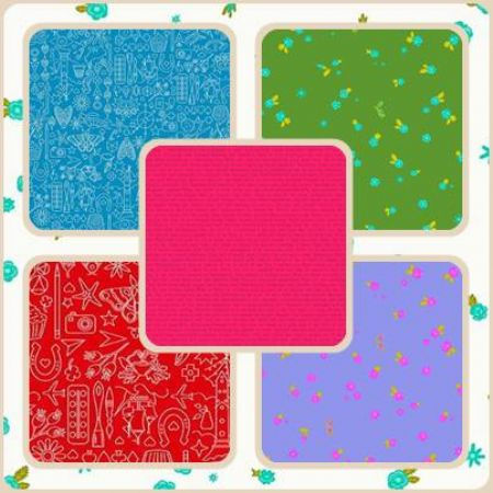 Sun Prints 2019 Andover Fabrics Fat Quarter Bundle 27 Prints