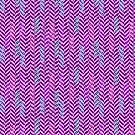 Road Trip Henry Glass Fabrics Chevron Tires - Purple 2136-55