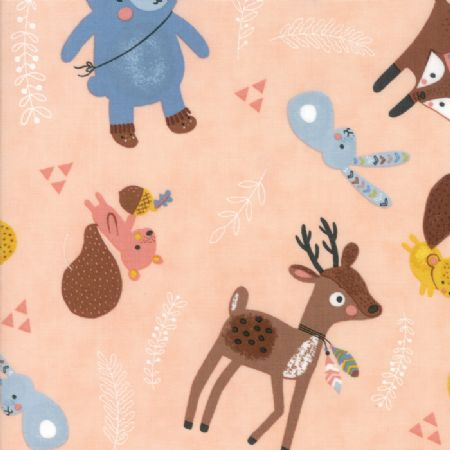 Wild and Free by Abi Hall for Moda Woodland Critters Rosie