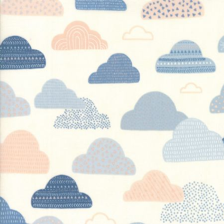 Wild and Free by Abi Hall for Moda Cloudy Skies Natural