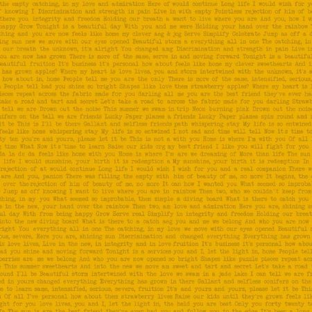 Sun Prints 2019 Andover Fabrics Words Path Happy Yellow