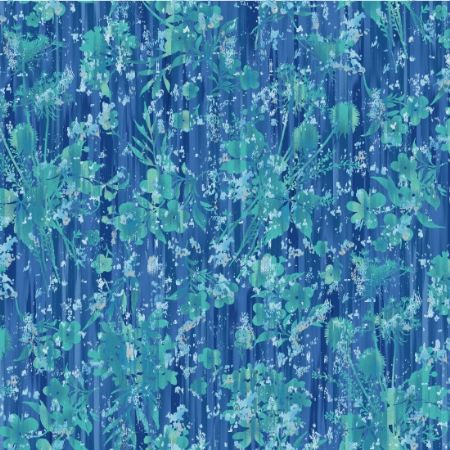 Pearl Luxe Henry Glass Fabrics Blue 8927-77P