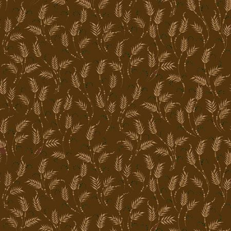 October Morning Henry Glass Fabrics Waving Wheat Brown