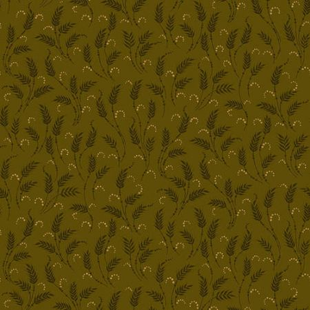 October Morning Henry Glass Fabrics Waving Wheat Green
