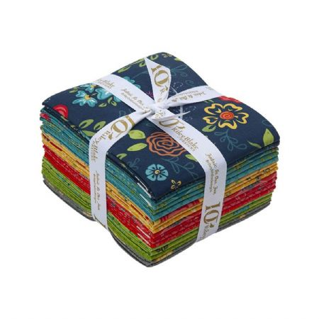 Wildflower Boutique Riley Blake Fat Quarter Bundle 14 @ 18 x 21