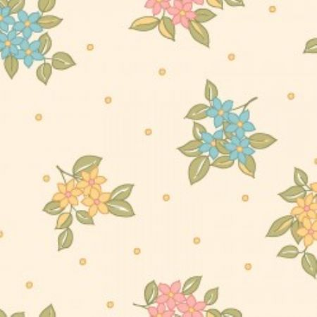 Sunlit Blooms from Maywood Studios Dots & Blooms Yellow