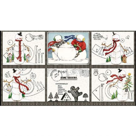 Snow Sweet Riley Blake  Placemat Panel 24 X 44