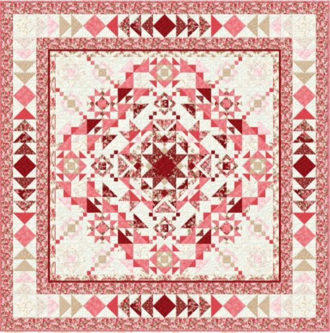 Quilt Kit Top Reflected Harmony  SALE 50% off