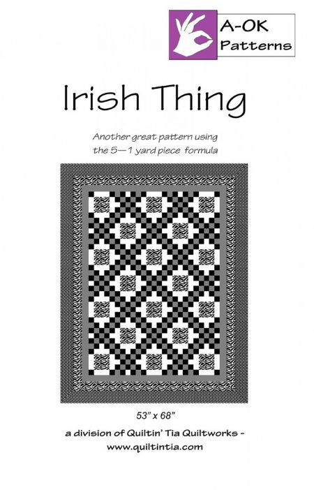 Irish Thing A OK 5 yard Pattern