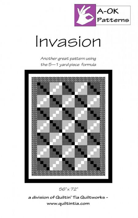 Invasion A OK 5 yard Pattern