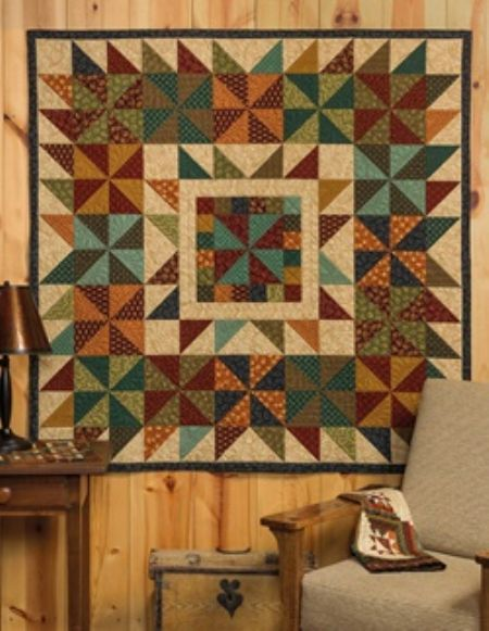 Quilt Kit Top: Breezy by Kim Diehl Finished size: 62 x 62