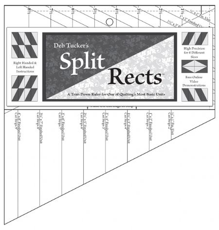 Split Rects Template ruler from Studio 180 Design
