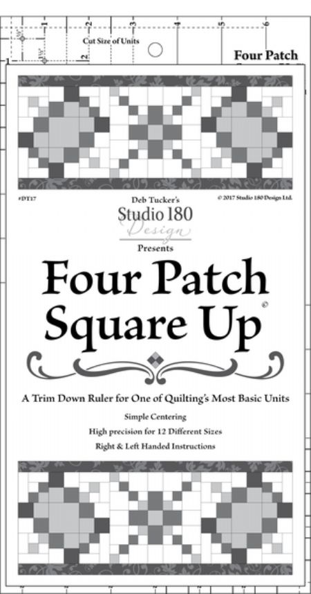Four Patch Square Up Studio 180 Design Template ruler