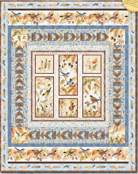Quilt Kit Top Forest Dance by Susan Winget Finished size: 49 x 62