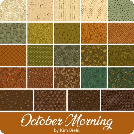 October Morning Henry Glass  Fat Quarter Bundle 22 @ 18 x 21