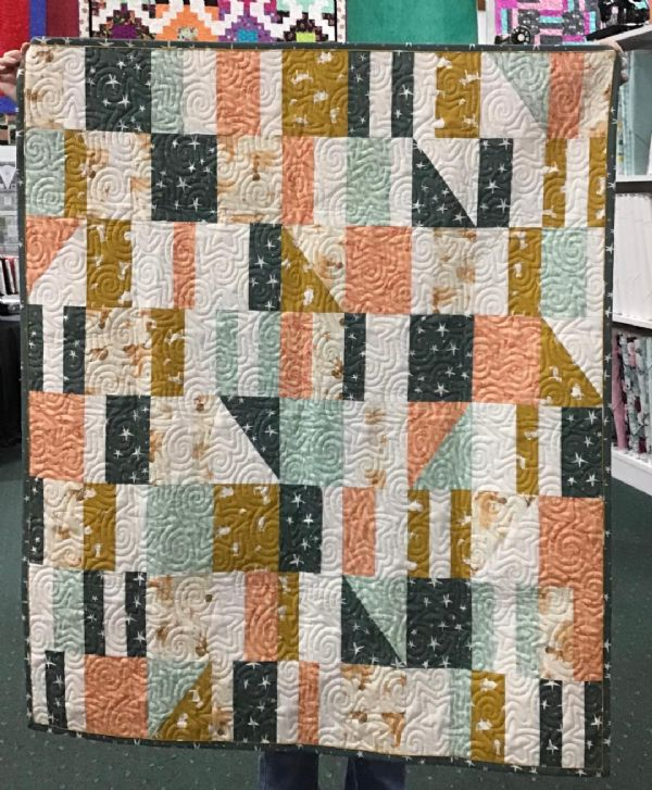 Quilt Kit Complete: SIdewalk Chalk by Then Came June
