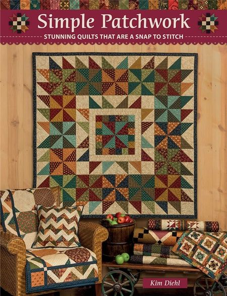 Quilt Book SImple Patchwork Kim Diehl