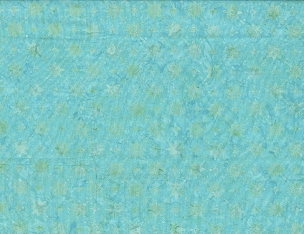 Aqua Star Grid Batik Wilmington Prints