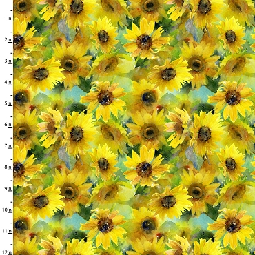 Sunflower Stampede 3 Wishes Digital Sunflowers