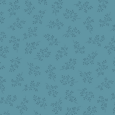Olive Branch Andover Fabrics Sky
