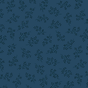 Olive Branch Andover Fabrics Navy
