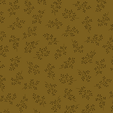 Olive Branch Andover Fabrics Coffee