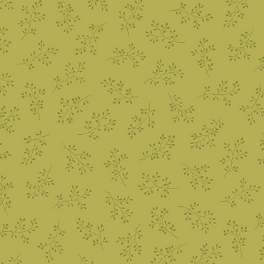 Olive Branch Andover Fabrics Citron