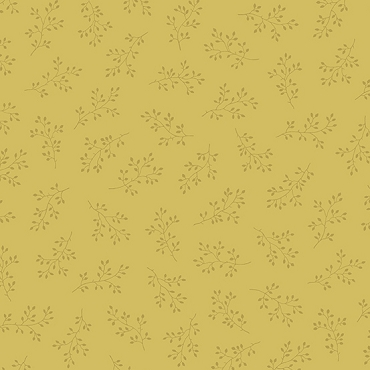 Olive Branch Andover Fabrics Gold