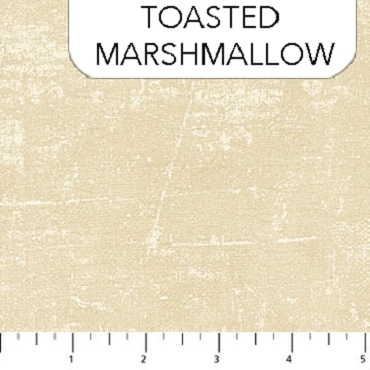 Canvas Northcott Toasted Marshmellow