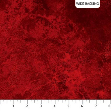 Quilt Backing 108'' Wide Northcott Stonehenge Red