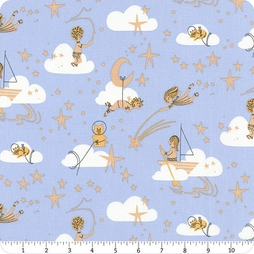 Playground Windham Fabrics Blue Among the Stars