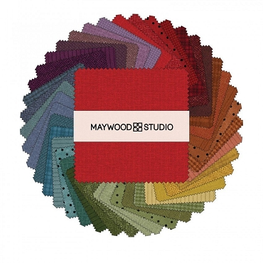 Woolies Flannel Maywood Studios Colors Vol. 2 42 @ 5'' Squares
