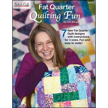 Quilt Book Fat Quarter Quilting Fun by Fran Morgan