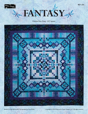 Quilt Pattern Fantasy by Wing and a Prayer Designs