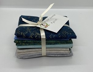 Shimmer Radiance fat Quarter Bundle  8  @ 18 x 22