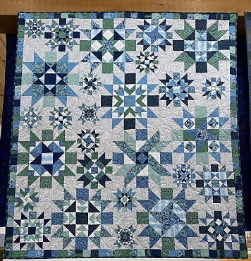 Quilt Kit Top Twilight Time 77.5 x 85