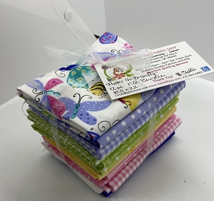 Susybee Flutter, the Butterfly Fat Quarter Bundle 12 of 18 x 22
