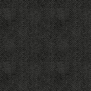 Woolies Flannel Maywood Studio Houndstooth herringbone black