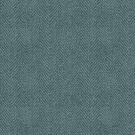Woolies Flannel Maywood Studios Herringbone Tonal Light Blue