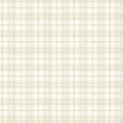 Woolies Flannel Maywood Studios Plaid Light Tan