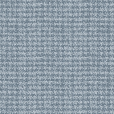 Woolies Flannel Maywood Studio Houndstooth light blue