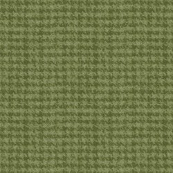 Woolies Flannel Maywood Studios Houndstooth Lt Green