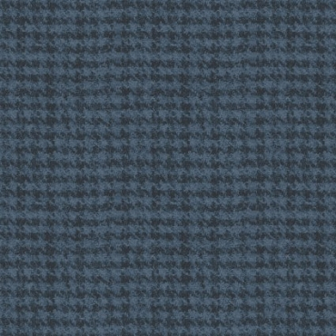 Woolies Flannel Maywood Studios Houndstooth Tonals Dark Navy